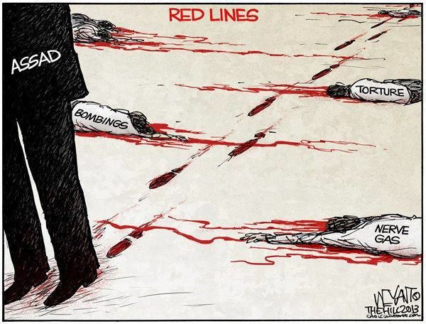 April 30 - Many Red Lines of Assad's - Syrian Days of Rage